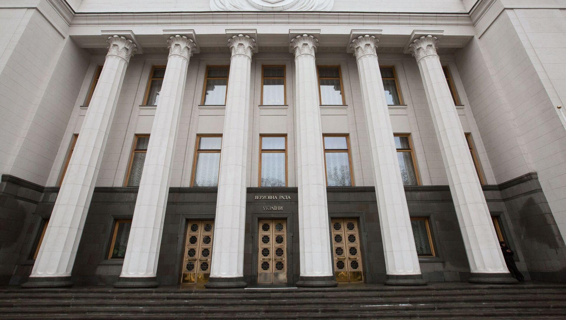 Здание Верховной рады Украины в Киеве - Sputnik Беларусь, 1920, 24.05.2021