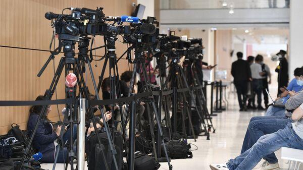 Камеры і журналісты - Sputnik Беларусь