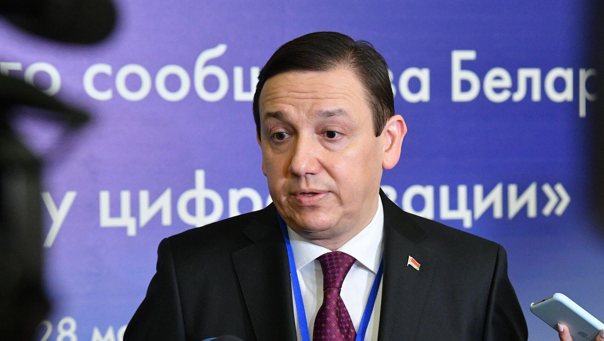 Министр информации Владимир Перцов - Sputnik Беларусь, 1920, 31.05.2021