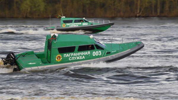 У памежнай службы ёсць свой флот - Sputnik Беларусь