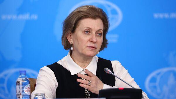 Руководитель Роспотребнадзора - главный государственный санитарный врач РФ Анна Попова  - Sputnik Беларусь