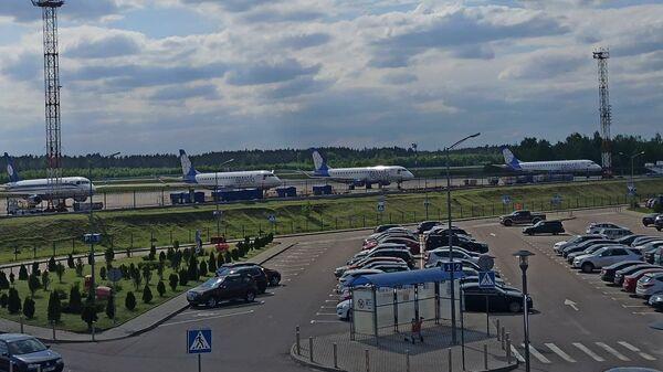 Самолеты Белавиа в Национальном аэропорту Минск - Sputnik Беларусь