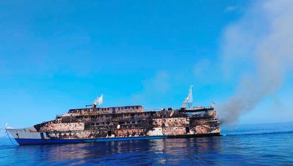 В Индонезии загорелся паром, на борту которого было почти 200 человек - Sputnik Беларусь