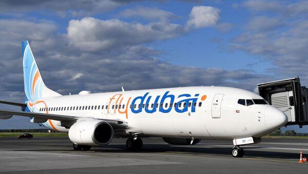 Самолет Boeing-737-800 авиакомпании Flydubai  - Sputnik Беларусь