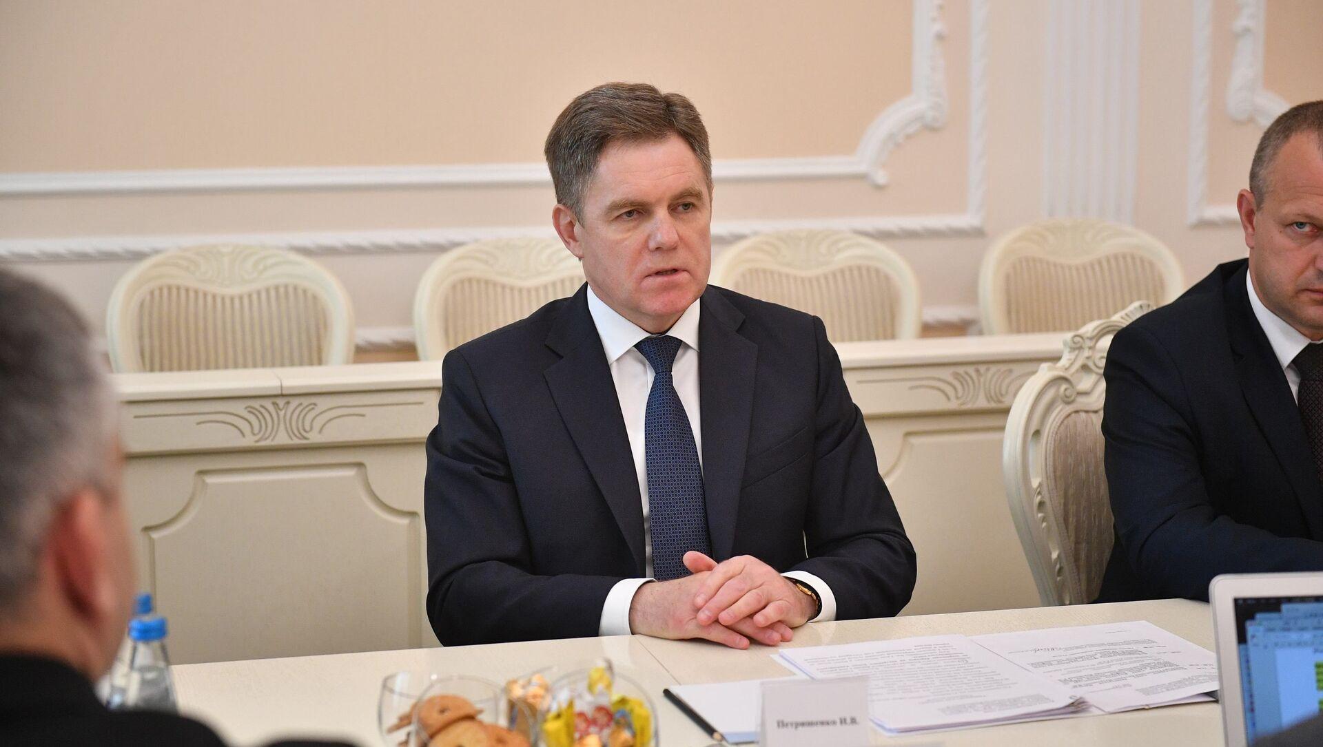 Заместитель премьер-министра Беларуси Игорь Петришенко - Sputnik Беларусь, 1920, 31.05.2021