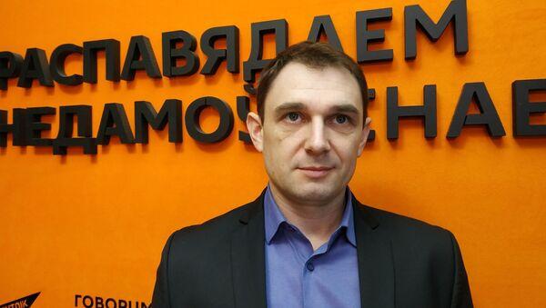 Грамадскі і палітычны дзеяч, лідэр руху Радзіма Пётр Шапко - Sputnik Беларусь
