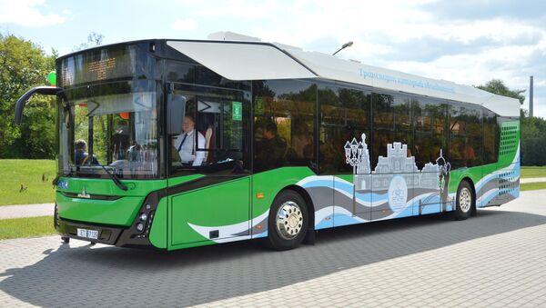 Новый брестский электробус - Sputnik Беларусь