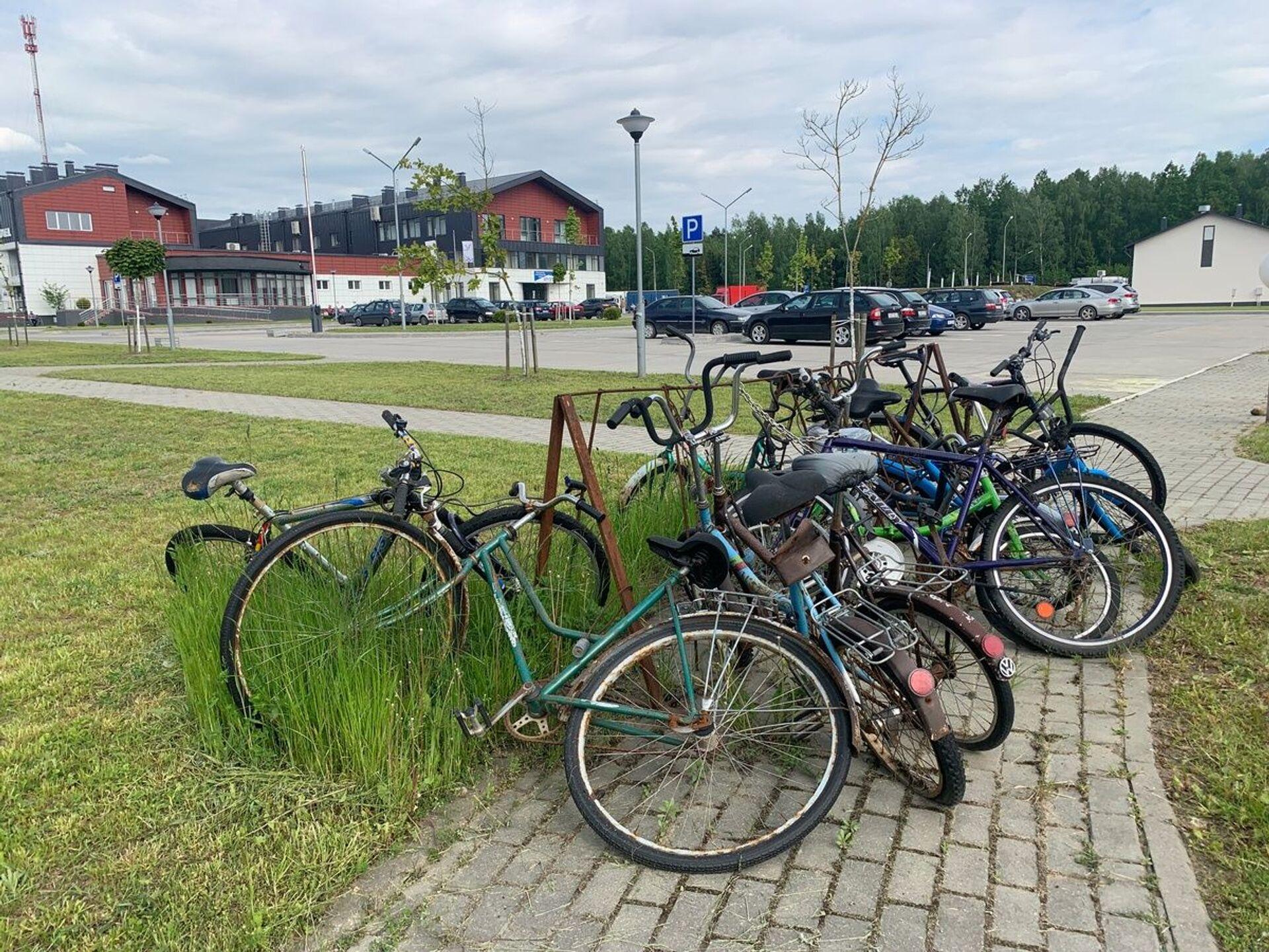 Из нового на границе – меньше брошенных велосипедов, которыми раньше активно пользовались горожане для поездок в Польшу  - Sputnik Беларусь, 1920, 29.06.2021