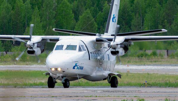 Самалёт L-410 авіякампаніі СКОЛ  - Sputnik Беларусь