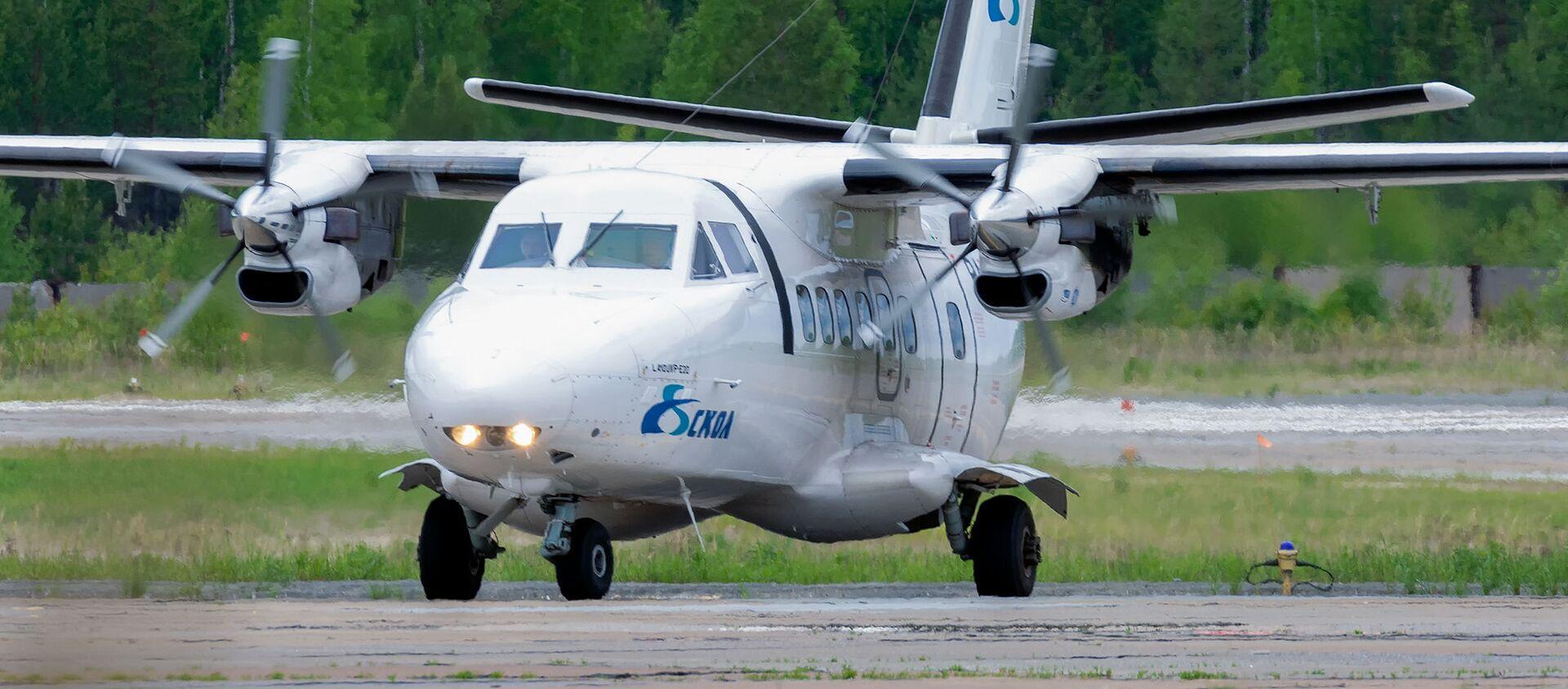 Самолет L-410 авиакомпании СКОЛ - Sputnik Беларусь, 1920, 03.06.2021