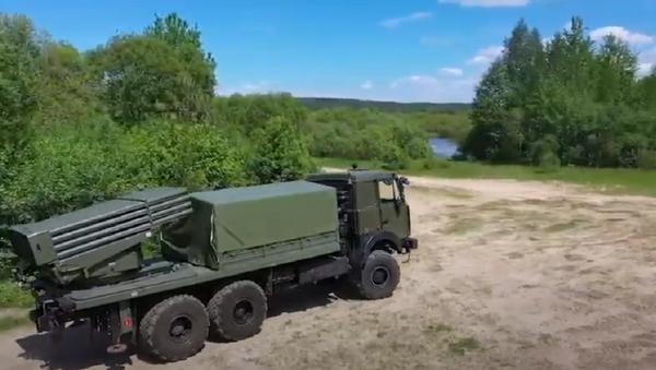 На MILEX-2021 пакажуць мадэрнізаваную РСЗА БелГРАД - Sputnik Беларусь