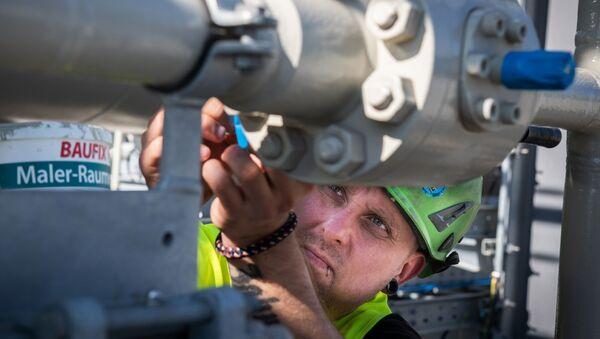 Будаўніцтва газаправода Паўночны паток - 2 у Германіі - Sputnik Беларусь