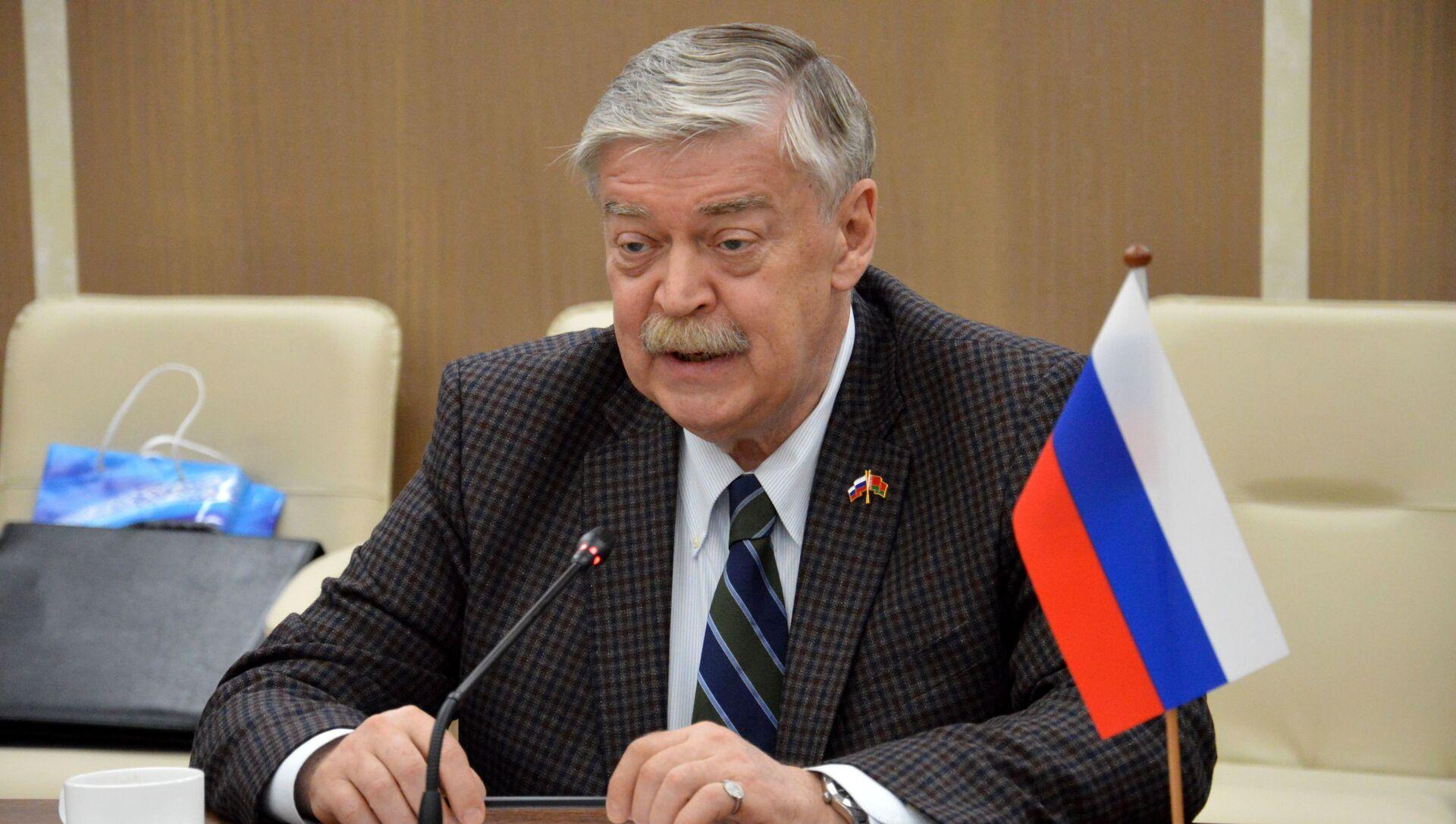 Посол России в Беларуси Евгений Лукьянов - Sputnik Беларусь, 1920, 05.06.2021