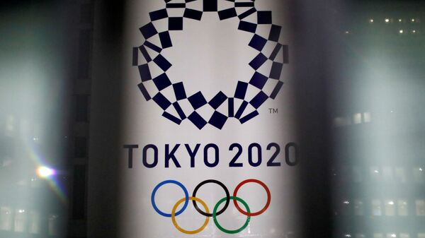 Логотип Олимпийских игр-2020 в Токио - Sputnik Беларусь