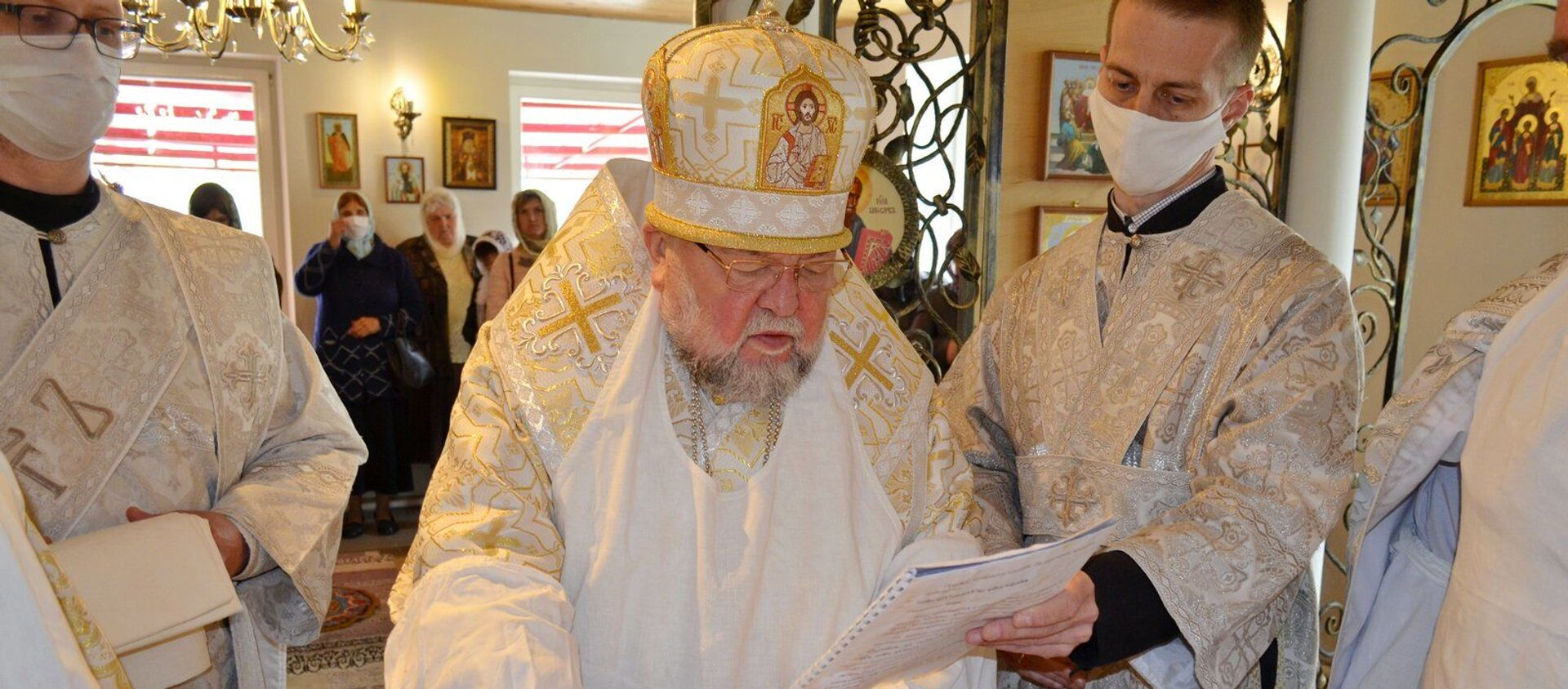 Архиепископ Артемий - Sputnik Беларусь, 1920, 09.06.2021
