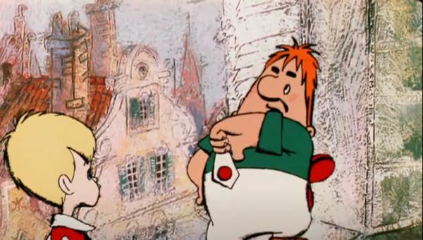 Кадр из мультфильма Малыш и Карлсон  - Sputnik Беларусь
