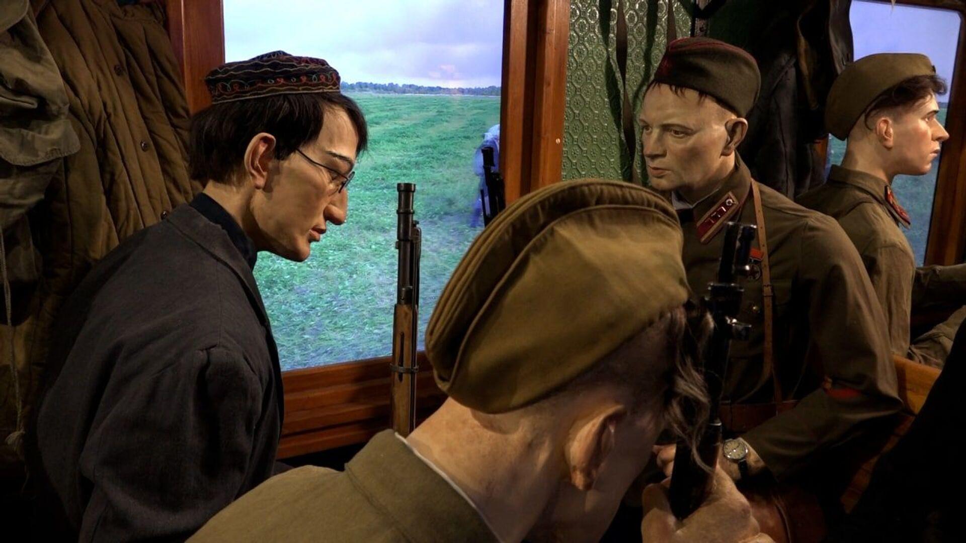 Поезд Победы – это единственная такая интерактивная экспозиция - Sputnik Беларусь, 1920, 29.06.2021