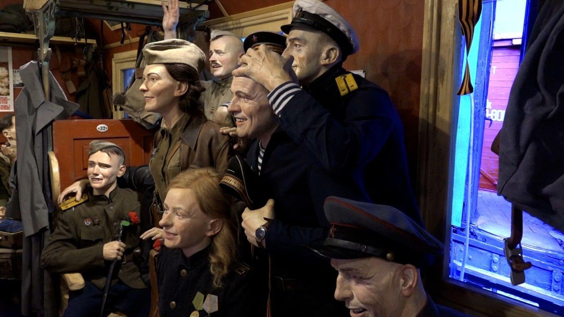 При помощи манекенов попытались воссоздать дух того времени - Sputnik Беларусь, 1920, 29.06.2021