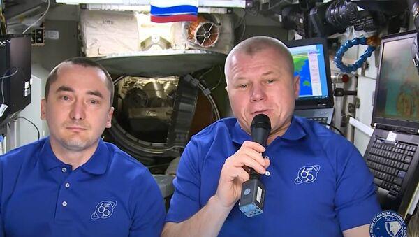Расіян павіншавалі з Днём Расіі з космасу - відэа - Sputnik Беларусь