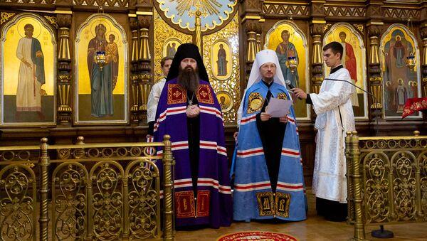 Служба в храме в Гродно - Sputnik Беларусь