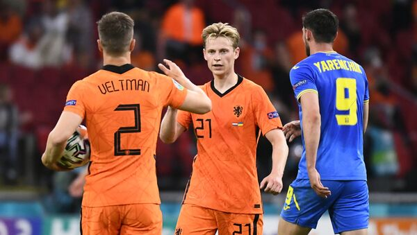 Матч Нидерланды - Украина, групповой турнир Евро-2020 - Sputnik Беларусь