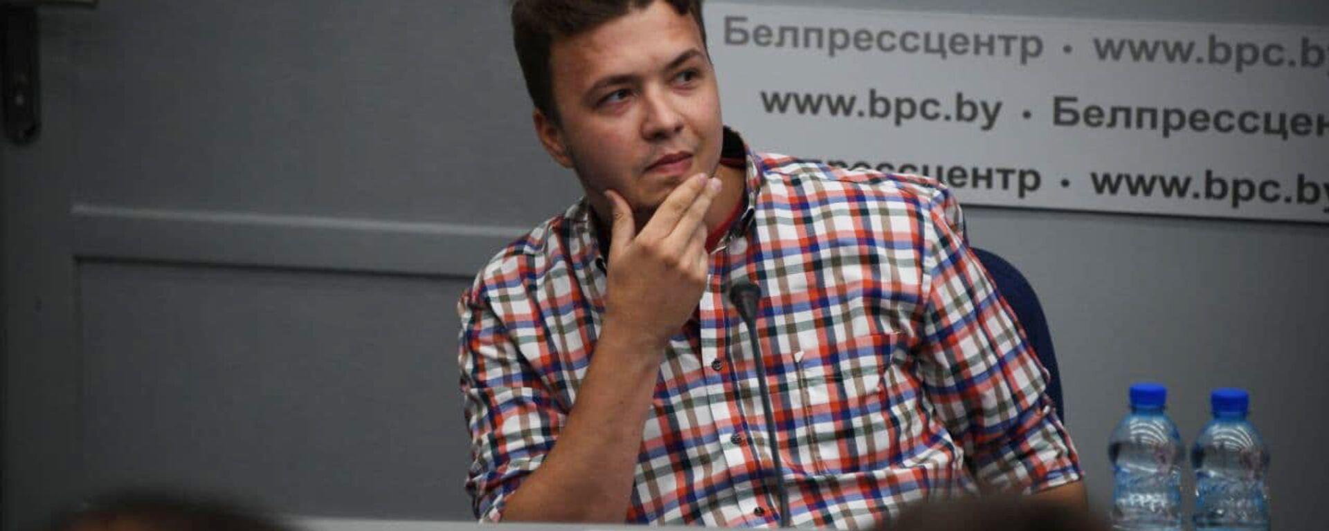 Раман Пратасевіч - Sputnik Беларусь, 1920, 08.07.2021