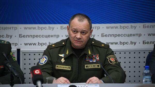 Командующий ВВС и войсками ПВО Беларуси Игорь Голуб - Sputnik Беларусь