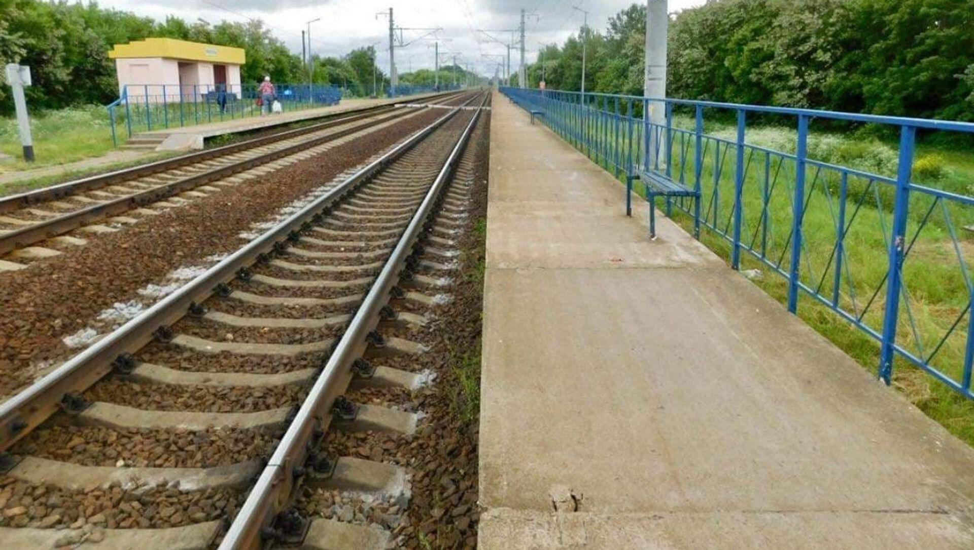 Женщину сбил поезд в Бобруйском районе - Sputnik Беларусь, 1920, 14.06.2021