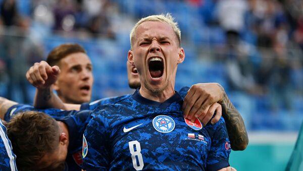 Игрок сборной Словакии Андрей Дуда - Sputnik Беларусь