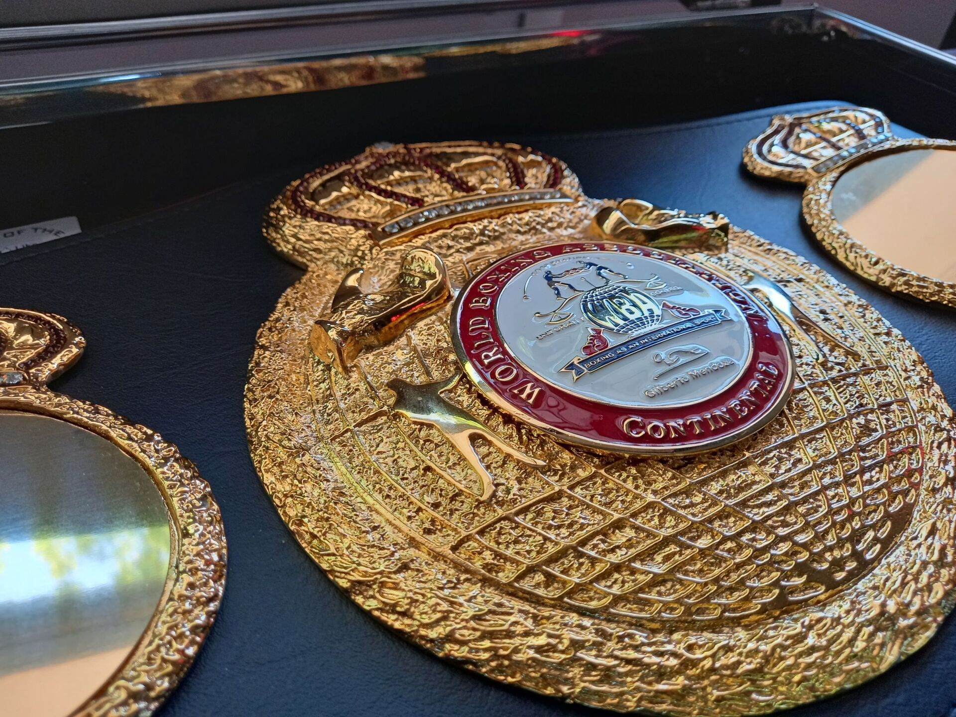 Чемпионский пояс WBA Intercontinental в боксе - Sputnik Беларусь, 1920, 29.06.2021