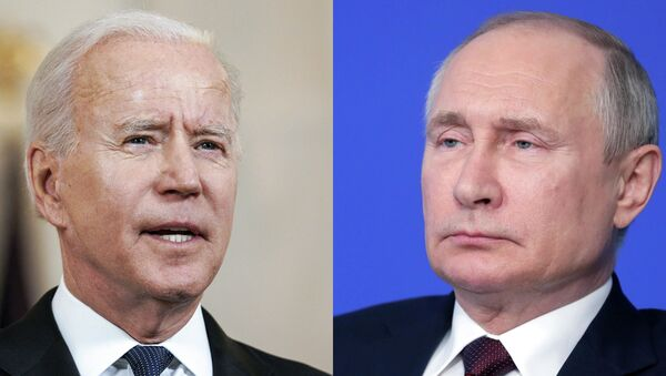 СПУТНИК_LIVE: Пресс-конференция Путина на саммите в Женеве - Sputnik Беларусь