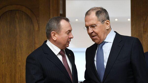 Прэс-канферэнцыя Макея і Лаўрова - Sputnik Беларусь