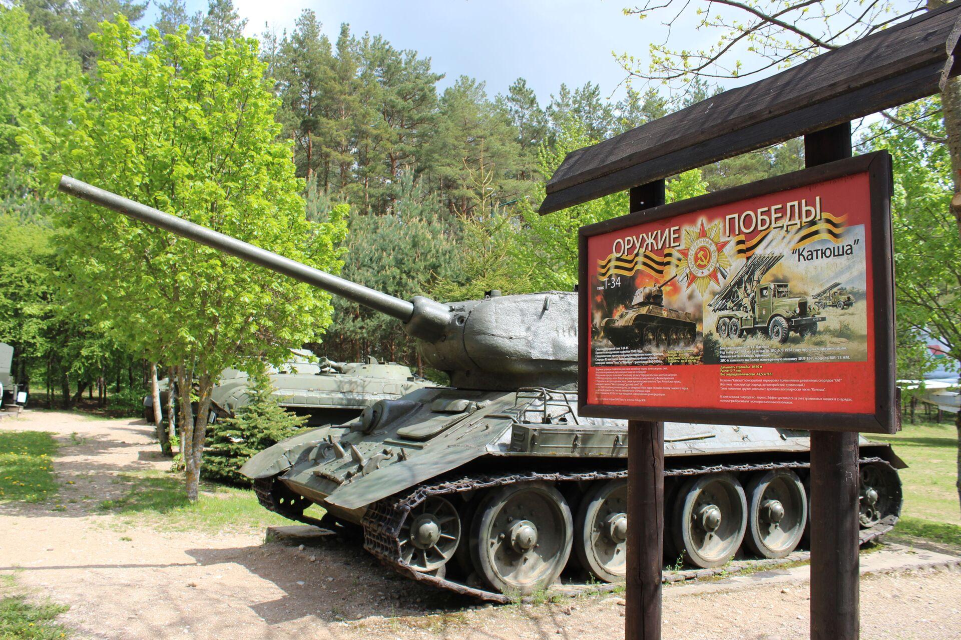 Оружие победы. Танк Т-34 - Sputnik Беларусь, 1920, 29.06.2021