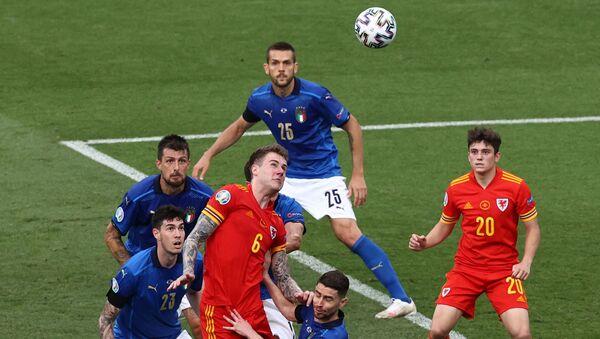 Матч сборных Италии и Уэльса на чемпионате Европы - 2020 - Sputnik Беларусь