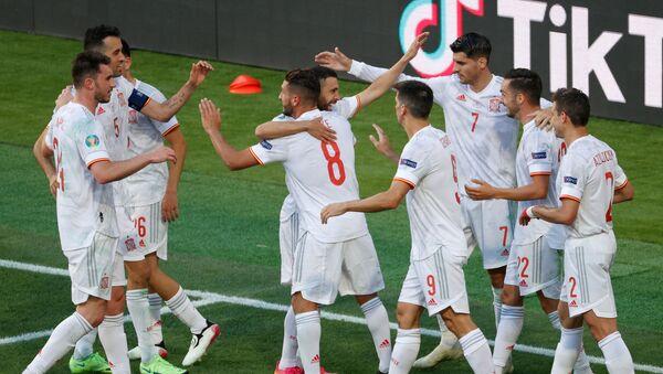 Футболисты сборной Испании на Евро-2020 - Sputnik Беларусь