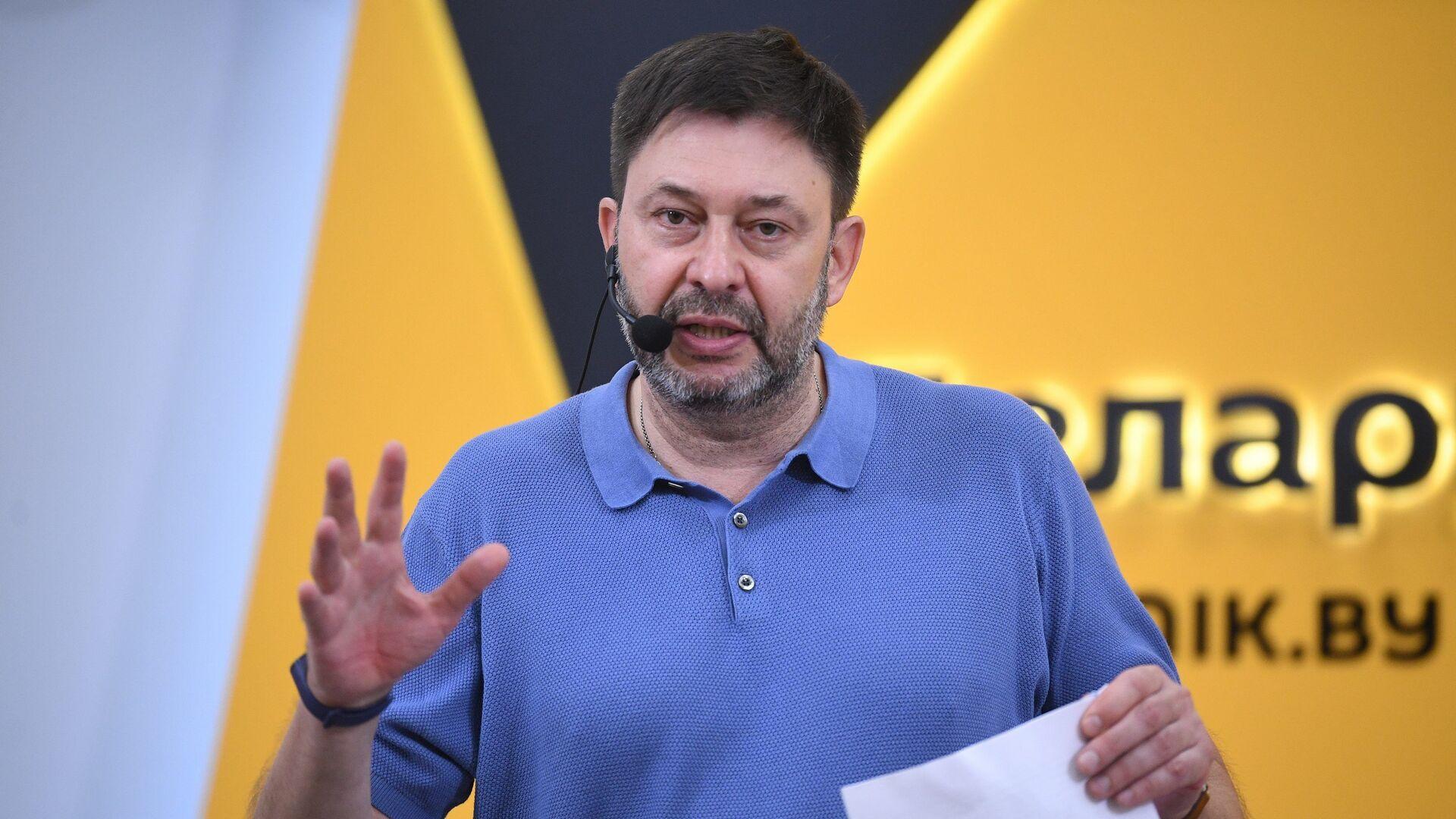 Исполнительный директор МИА Россия сегодня Кирилл Вышинский - Sputnik Беларусь, 1920, 24.06.2021