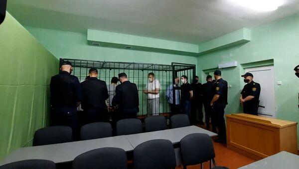 Суд по делу блогера Тихановского проходит в Гомеле - Sputnik Беларусь
