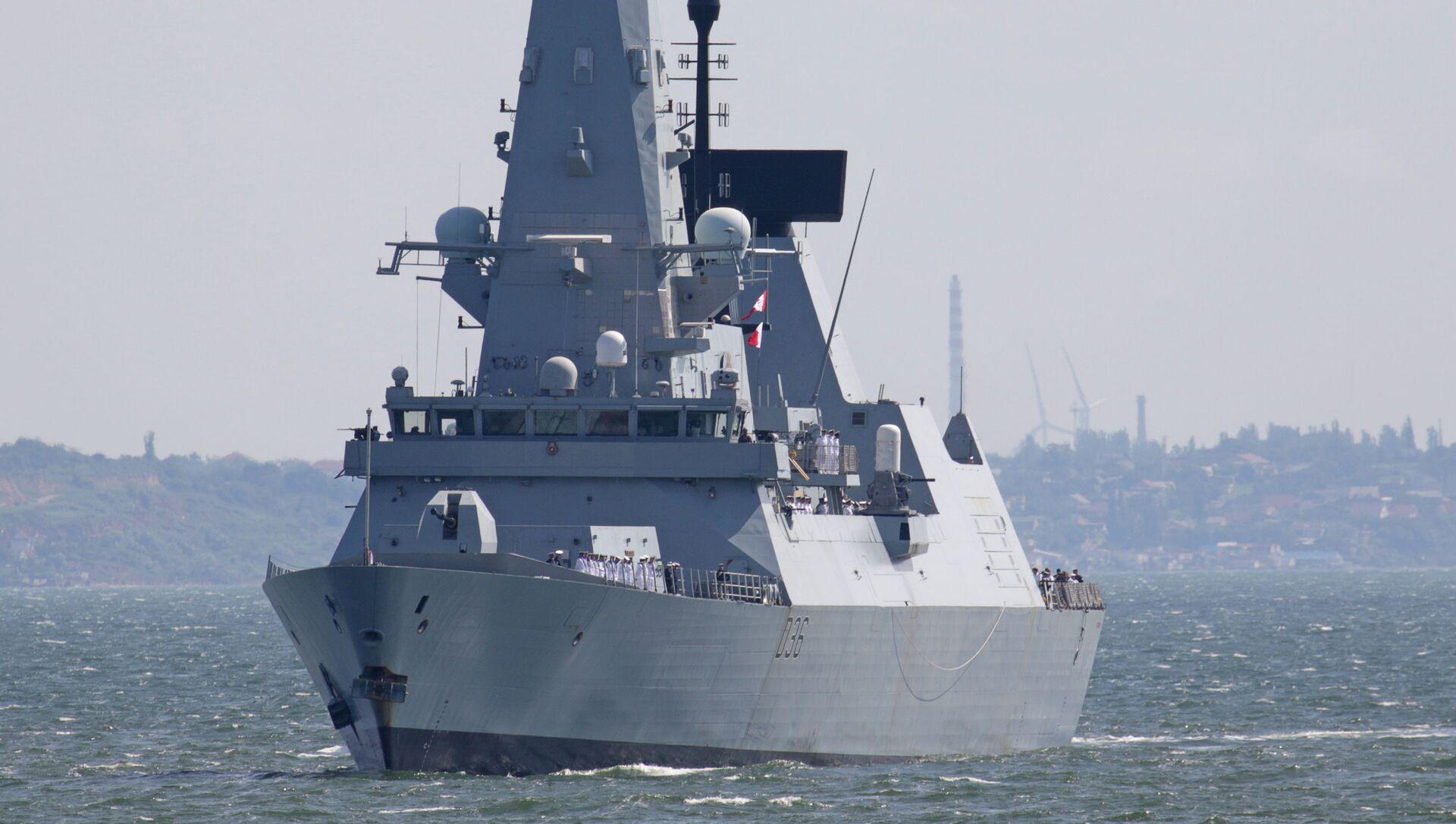Британский эсминец HMS Defender - Sputnik Беларусь, 1920, 24.06.2021