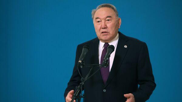 Первый президент Республики Казахстан Нурсултан Назарбаев - Sputnik Беларусь