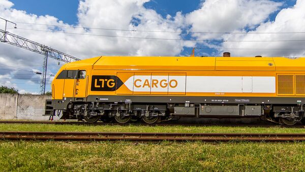 Тепловоз компании LTG Cargo - Sputnik Беларусь