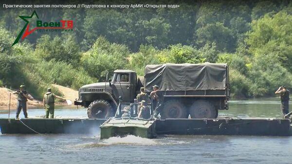 Белорусские военные готовятся к Армейским играм Открытая вода – видео - Sputnik Беларусь