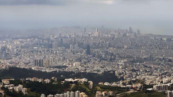 Ливанская столица Бейрут с высоты птичьего полета. - Sputnik Беларусь