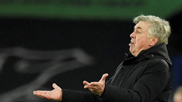 Главный тренер мадридского Реала Карло Анчелотти - Sputnik Беларусь