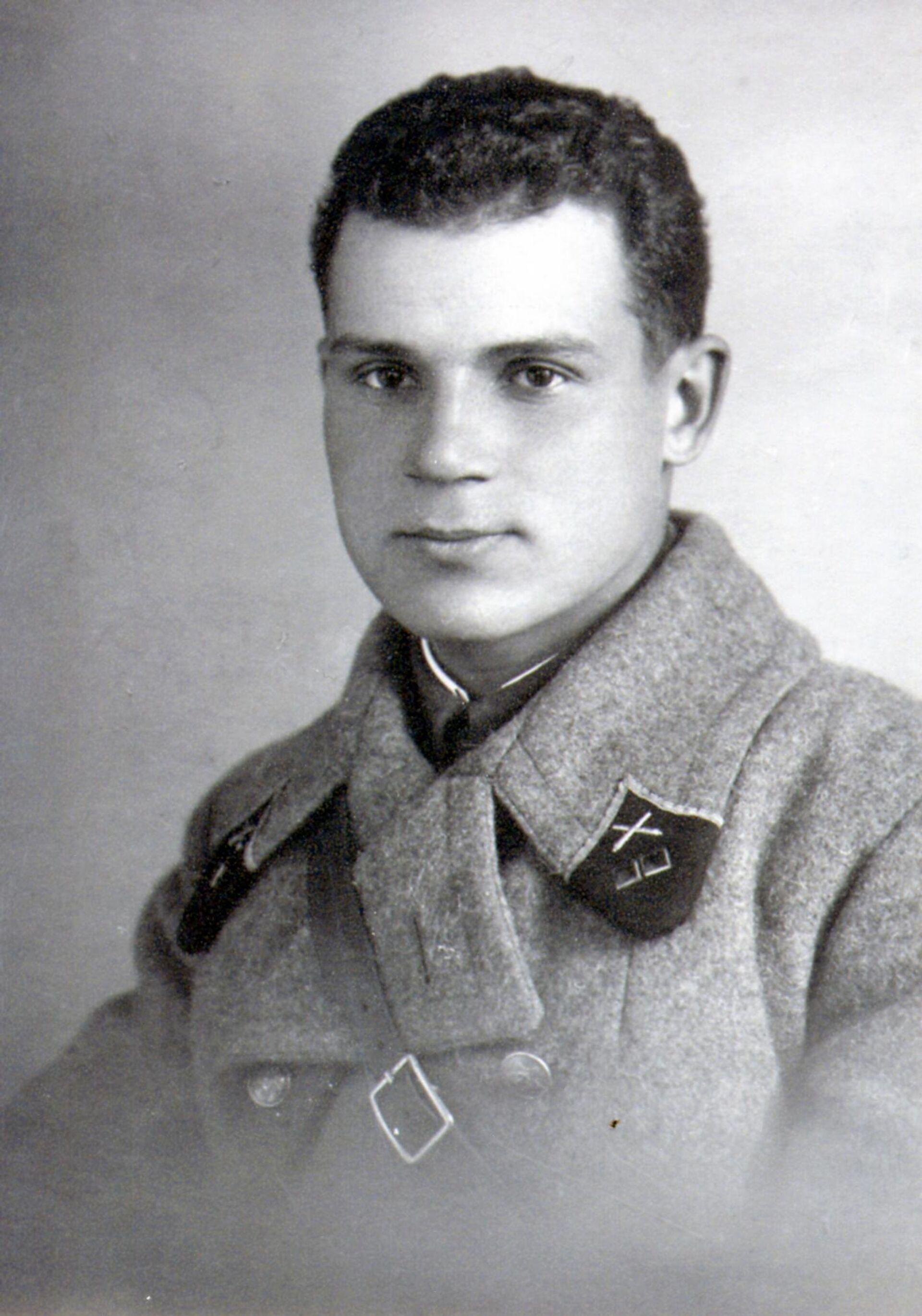 Лейтенант Алексей Буфетов в ноябре 1940 года - Sputnik Беларусь, 1920, 01.07.2021