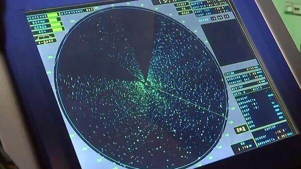 Изображение на мониторе радара - Sputnik Беларусь