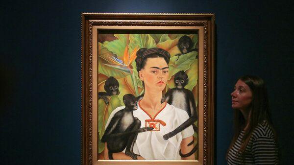 Фрида Кало: Автопортрет с обезьянками, 1943 - Sputnik Беларусь