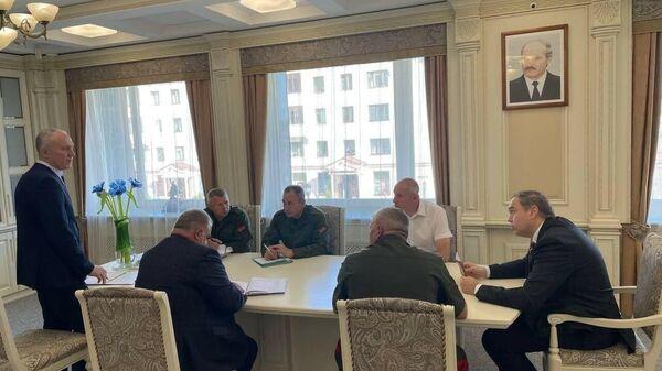 Проводится первый этап комплексной проверки органов управления территориальной обороны Гродненской области - Sputnik Беларусь