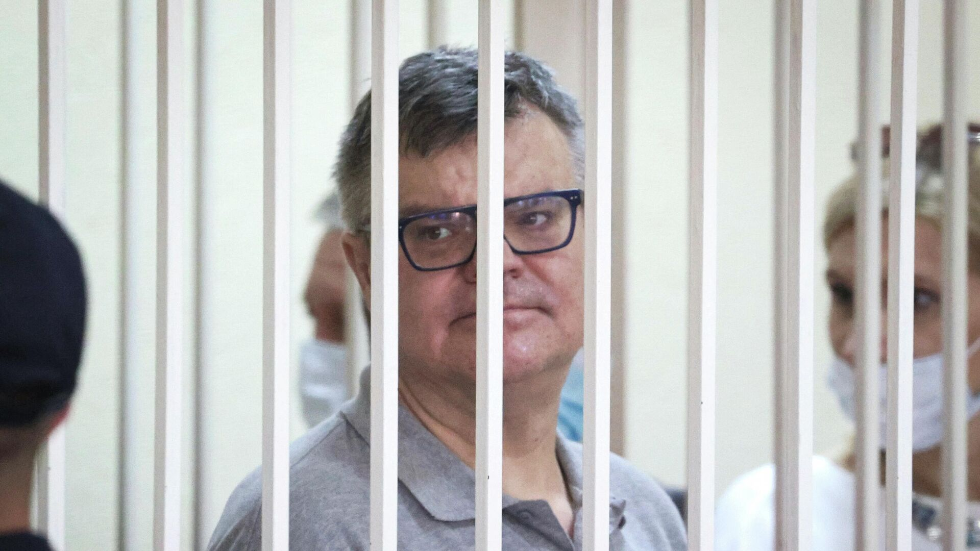 Виктор Бабарико на суде 6 июля 2021 года - Sputnik Беларусь, 1920, 13.07.2021