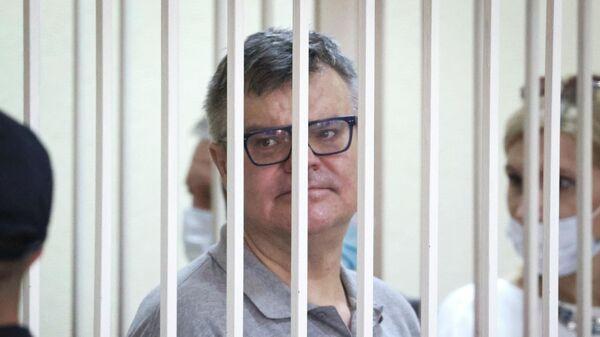 Виктор Бабарико на суде 6 июля 2021 года - Sputnik Беларусь