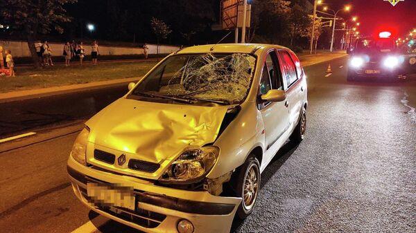 Страшная авария в Минске: пьяный водитель сбил двух пешеходов - Sputnik Беларусь